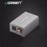 ซื้อ Ugreen Digital To Analog Audio Adapter Optical Coaxial Toslink Audio Converter Rca L R 3 5Mm With Dc5V 2A Adapter Eu Plug Intl Ugreen ถูก