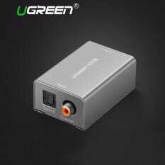 ทบทวน ที่สุด Ugreen Digital To Analog Audio Adapter Optical Coaxial Toslink Audio Converter Rca L R 3 5Mm With Dc5V 2A Adapter Eu Plug Intl