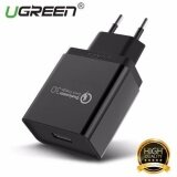 ขาย Ugreen Qualcomm Certified Quick Charge 3 18W Usb Wall Charger Phone Charger Eu Plug Black Intl Ugreen ใน จีน