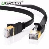 โปรโมชั่น Ugreen Super High Speed Rj45 Stp Cat 7 Flat Gigabit Ethernet Network Cable 20M Intl ใน จีน