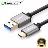 ขาย Ugreen Usb 3 To Type C Data Sync Charging Cable With Aluminum Connector Black 25M Intl ถูก