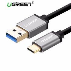 ซื้อ Ugreen Usb 3 To Type C Data Sync Charging Cable With Aluminum Connector Black 1 5M Intl