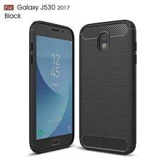 ราคา Ultra Light Carbon Fiber Armor Shockproof Brushed Silicone Grip Case For Samsung Galaxy J5 Pro 2017 J530 Intl ถูก
