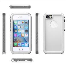 ขาย ซื้อ Ultra Slim Built In Touch Screen Waterproof Full Body Case Cover For Apple Iphone Se 5Se 5 5S White