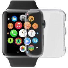 ขาย Ultra Slim Cystal Clear Pc Hard Protective สำหรับ Apple Watch Series 1 42Mm ออนไลน์