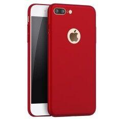 ทบทวน ที่สุด Ultra Slim Fit Shell Hard Plastic Full Protective Anti Scratch Resistant Cover Case For Iphone 8 Plus Intl