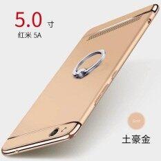 ขาย Ultra Thin 3 In 1 Pc Matte Hard Back Cover Case With Metal 360 Ring For Xiaomi Redmi 5A Intl เป็นต้นฉบับ