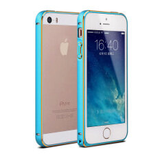 ขาย Ultra Thin Aluminum Metal Bumper Case Cover For Apple Iphone 5 5S Se Blue ถูก