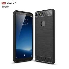 ราคา Ultra Thin Carbon Fiber Soft Tpu Case Back Cover For Vivo V7 Vivo Y69 Intl ฮ่องกง