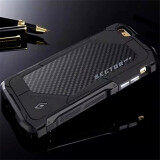 Ultra Thin Element Sector Pro Metal Aluminum Carbon Cell Phone Cases For Apple Iphone 6 6S 4 7 Inch Mobile Case Cover Black Unbranded Generic ถูก ใน จีน