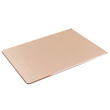 ราคา Ultra Thin Spill Resistant Anti Slip Double Faced Aluminum Alloy Luxury Gaming Office Mouse Mat Pad Gold จีน