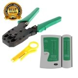 ขาย Umbrella Set 2In1 คีมเข้าหัวสายแลน Network Rj45 Cat5 Rj11 Rj12 Lan Cable Wire Crimper Crimp Plier Strip Tool Green ตัวเช็คสายแลน Rj45 Rj11 Rj12 Cat5 Utp Network Lan Cable Tester Remote Test Tools White Green กรุงเทพมหานคร