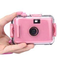 กล้องถ่ายภาพใต้น้ำขนาดเล็ก 35 มิลลิเมตรฟิล์ม Camera สีม่วง - นานาชาติ.