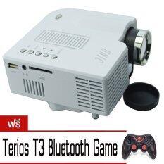 โปรโมชั่น Unic Projetor Uc28 ยูนิค โปรเจคเตอร์ By 9Final ฟรี Terios T3 Bluetooth Game Controller