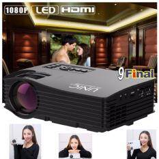 ซื้อ Unic Uc36 By 9Final Mini Portable Led Projector โปรเจคเตอร์ Full Color 1080P Home Cinema Hdmi Av Usb ถูก ไทย