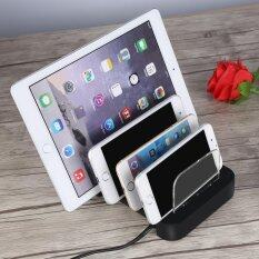 ขาย Universal 5V 4 8A 4 Port Usb Charging Station Dock Stand Charger Us Plug Intl ถูก