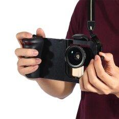 【โปรโมชั่น】 3in1 Universal Adjustable Handheld Stabilizer Rig Mount Kit Holder กับฟิลเตอร์เลนส์สำหรับโทรศัพท์สมาร์ท - Intl.
