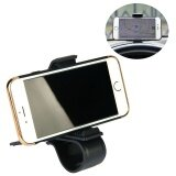 ส่วนลด Universal Car Phone Holder Adjustable Dashboard Mount Clip Mobile Smart Phone Gps Stand Clamp Bracket For Phone Intl