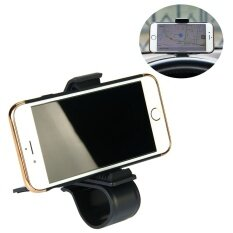 ซื้อ Universal Car Phone Holder Adjustable Dashboard Mount Clip Mobile Smart Phone Gps Stand Clamp Bracket For Phone Intl ใน จีน