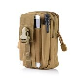 ซื้อ Universal Outdoor Tactical Holster Military Molle Hip Waist Belt Bag Wallet Pouch Purse Phone Case With Zipper For Iphone 7 6S Plus 5S Samsung Galaxy S7 S6 Lg Htc And More Khaki Intl ออนไลน์ จีน