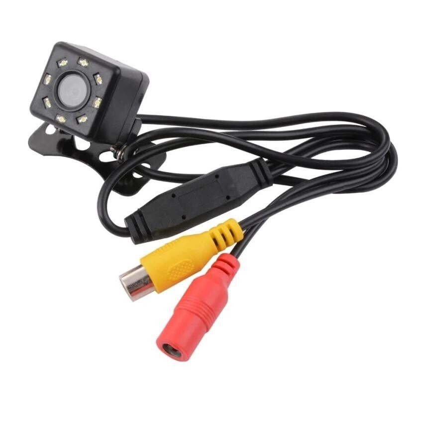 Di shop กล้องมองหลัง Universal Waterproof 8 LED Night Vision CCD 170°Viewing Angle Car Rear View Reserve Backup Camera สำหรับ รถยนต์ รถ SUV