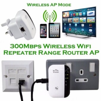 Universal WiFi Range Extender 300Mbps ตัวขยายความแรงของสัญญานไวไฟ 300Mbps