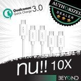 ราคา หนา 4 Mm สายชาร์จเร็ว Aukey Quick Charge 3 2 Compatible Micro 2 Usb Cable สายชาร์จ สายซิงค์ รองรับการชาร์จไวจากระบบ Fast Charge Qualcomn Qc3 2 ยาว 1 2 เมตร สีดำ แพ็ค 5 เส้น 2M X 1 1 2M X 2 3M X 2 สีขาว