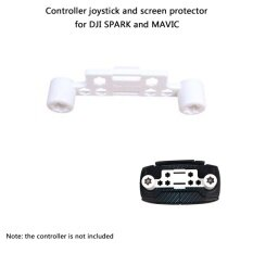 THB 186. Upgraded Transmitter Clip Remote Controller Joystick Screen Guard Protector Thumb Rocker Stick Holder Bracket with Velcro Strap for DJI Spark ...