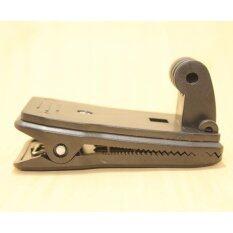 ราคา อุปกรณ์เสริม ขายึดแบบหนีบ สำหรับกล้อง Gopro Sjcam และ Xiaomi Yi ดำ Black Unbranded Generic กรุงเทพมหานคร
