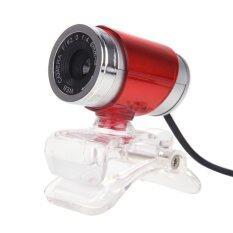 ขาย Usb 12Mp Hd Webcam Computer Camera With Mic Red Intl ใหม่