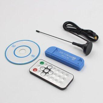 เชียร์ USB 2.0 ดิจิตอล DVB-T SDR+เครื่องรับโทรทัศน์ hdtv ได้ไม้เท้า DAB+FM RTL2832U และ R820T2