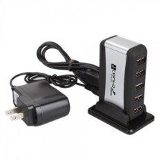 ทบทวน Usb 2 Hub 7 Port Adapter สีดำ Unbranded Generic