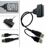 ซื้อ Usb 2 To Sata 7 15 Pin 22 For 2 5 Hdd Hard Disk Drive With Usb Power Cable Unbranded Generic