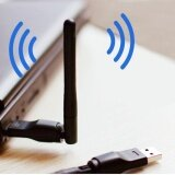ขาย Usb 2 Wifi Rt5370 Wireless Network Card 802 11 B G N Lan Adapter Dongle Black Intl ถูก ใน จีน