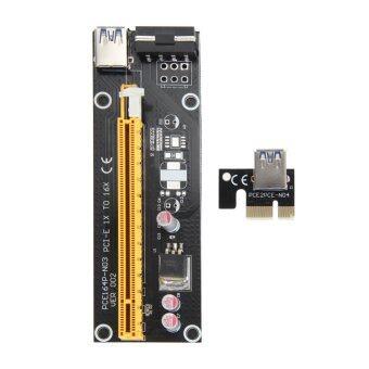USB 3.0 PCI-E เอ็กซ์เพรส 1 x ที่ 16 x ไรเซอร์การ์ดอะแดปเตอร์เครือข่ายไร้สายพลังงาน - Intl