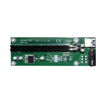 USB 3.0 PCI-E เอ็กซ์เพรส 1 x ที่ 16 x กราฟิกส์โครงสร้าง SATA เคเบิล - Intl