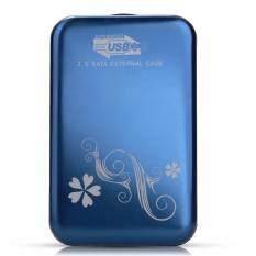 ขาย Usb 3 2 5 Inch Sata Hdd Hard Drive Disk Flower Case Box Enclosure External ถูก