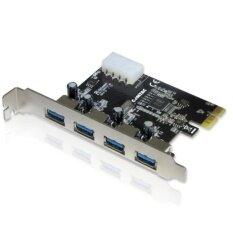 ซื้อ Usb 3 Card 4Port Pci Express Pcie Superspeed Usb 3 ออนไลน์ กรุงเทพมหานคร