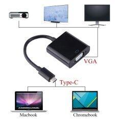 ขาย Usb 3 1 ประเภท C ชายไปยัง Vga อะแด็ปเตอร์อะแด็ปเตอร์ 1080 จุดสำหรับแอปเปิ้ลใหม่ Macbook 12 นานาชาติ Unbranded Generic ถูก