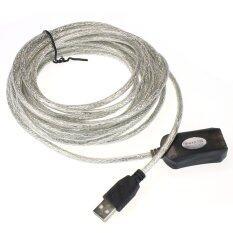 ความคิดเห็น Usb Cable Extension Lead For Computer Plug Extender Silver