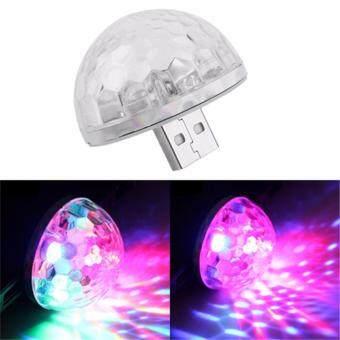 ไฟเธค ไฟดิสโก้ เปลี่ยนสี พอร์ต USB COLORFUL NEON LIGHT