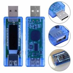 Usb Detector Voltmeter Ammeter Power Capacity Tester Voltage Current Test Meter Intl ใหม่ล่าสุด