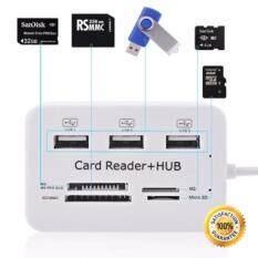 ซื้อ Usb Hub Combo 2 3 Ports Card Reader High Speed Multi Usb Splitter Hub Usb Combo All In One For Pcnotebook Computer Accessories ใหม่
