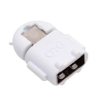 USB On-The-Go (OTG) สำหรับต่อ เข้าสมาร์ทโฟน/แท็บเล็ต mini รูป Robot Android -White    -