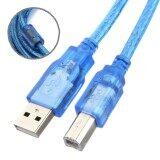 ซื้อ Usb To Printer 5M Am Bm V2 0สายพิมเตอร์ยาว5เมตร สีฟ้า ถูก ใน ไทย