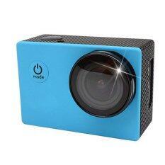 UV Filter Cover Lens SJCAM Wifi SJ4000 Protective Optical Glass Cover (Blue)