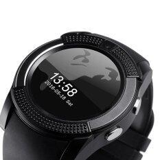 ซื้อ V8 Smart Watch Wacht Clock With Sim Tf Card Slot Bluetooth Connectivity For Iphone Android Xiaomi Phone Pk Gt08 Dz09 Intl ออนไลน์ ถูก