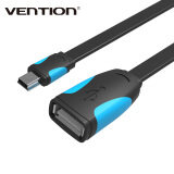 โปรโมชั่น Vention 25M Male To Female Mini Usb Otg Cable Adapter Data Sync Charge Cable For Mp3 Mp4 Camera Mobile Phone Vas A19 B025 Black Intl Intl ถูก