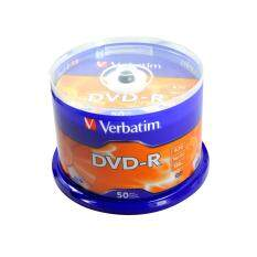 Verbatim Dvd- R Recordable 4.7gb 16x Speed 120 Min Azo By Persoft.