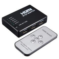 ขาย Video Hdmi Switch Box Switcher Splitter For Hdtv Ps3 Dvd Ir Remote ถูก Thailand